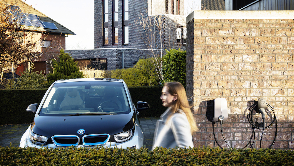 EV Box EV Charger installations from SJB Smart Electricals