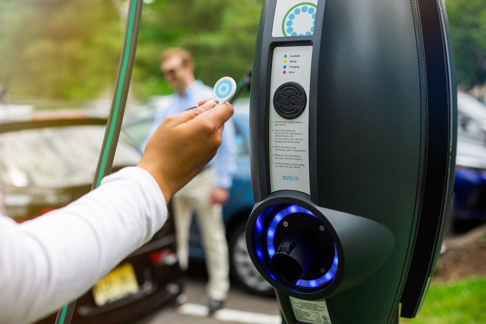 EVBox EV Charger installations from SJB Smart Electricals