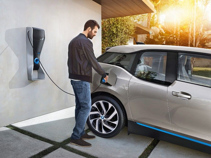 Electric Vehicle car charging at home - installations by SJB Smart Electricals